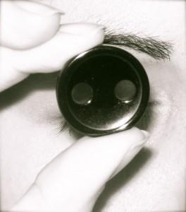 Ojo y botón